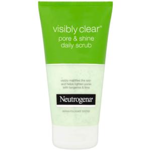neutrogena visibly clear pore shine daily scrub 150 ml