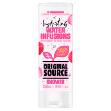 original source 250 ml raspberry and rose water