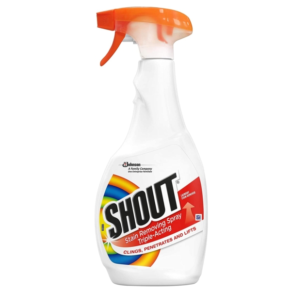 shout stain remover spary