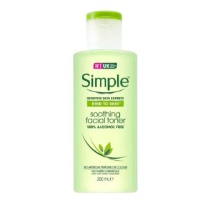 simple facial toner 200 ml